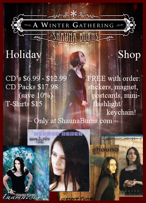 Shauna Burns Holiday Shop 2011
