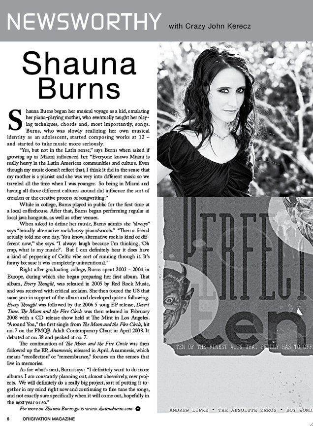Shauna Burns - The Moon And The Fire Circle